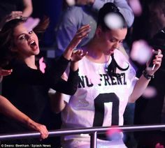 katy perry at britney spears vegas concert
