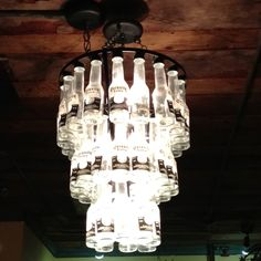 Interesting chandelier at my favorite Tex-mex restaurant.