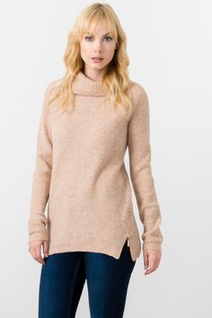 Suzy Shier Cowl Neck Sweater