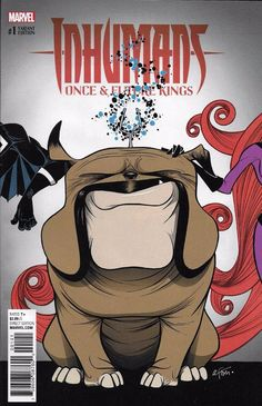 Marvel Inhumans Once and Future Kings comic issue 1 Limited variant