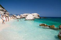 Contrasts Color from Cala Mariolo (Sardinia)