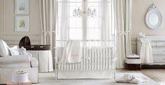 super schönes babyzimmer in weiß einrichtungsideen luxus babyzimmer dekoration weiß