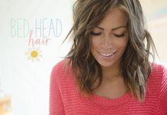 How do you do your hair?