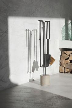 ferrari fireplace tool holder