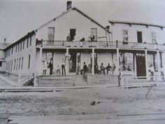 Old Dodge House Hotel in Dodge City Kansas.
