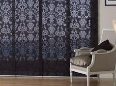 Damask Panels from Blinds On Line Panel Blinds, Blinds Online, Shutters, Damask, Window Treatments, Windows, Curtains, Doors, Glass