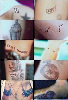 Larry tattoos