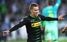 Chelsea have a £13million buy-back option on attacking midfielder Thorgan Hazard