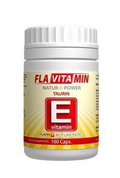 Vitamina E cu  Flavin 7 Taurina 100 capsule