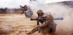 Back blast area all clear! (U.S. Marine Corps photo by Cpl. Matthew Callahan)