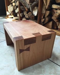 Banquito para niño #kanna #woodtie #woodworking #handcraft #japanesecarpentry #patagoniaargentina #smandes