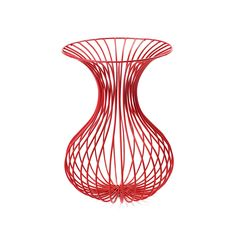 I like the shape of this vase and the color of it, it is very simple.