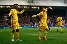Sturridge and Moreno do the Dstudge Dance✨❤️