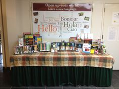January Display Table in Northport