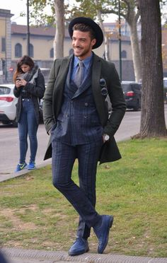 Street style Pitti Uomo 87 – Powered by Louis Purple – Ziua 2 - Stil Masculin .ro