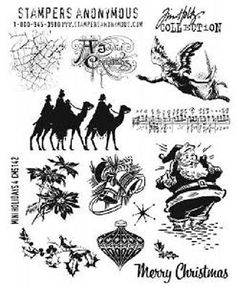 Stampers #anonymous tim holtz mini #holidays 4 cms-142 three wise men #santa ange,  View more on the LINK: http://www.zeppy.io/product/gb/2/122182196979/