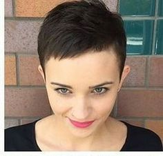 Today we have the most stylish 86 Cute Short Pixie Haircuts. We claim that you have never seen such elegant and eye-catching short hairstyles before. Pixie haircut, of course, offers a lot of options for the hair of the ladies'… Continue Reading → Funky Short Haircuts, Short Hairstyles For Thick Hair, Haircut For Thick Hair, Pixie Hairstyles, Short Hair Cuts, Short Hair Styles, Pixie Cuts, Female Hairstyles, Hairdos