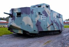 Full sized A7V replica.