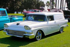1958 Ford Sedan Delivery..Re-pin...Brought to you by #CarInsurance at #HouseofInsurance in Eugene, Oregon