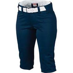 $29.99 - Rawlings Women's Knicker Softball Pants with Belt Loops