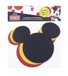 Disney Mickey Mouse Ears Adhesive Felt Pack SmallDisney Mickey Mouse Ears Adhesive Felt Pack Small,