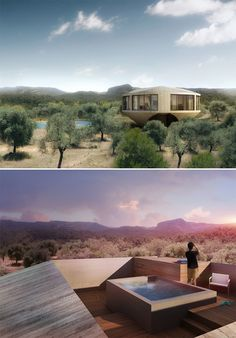 Rotunda Residence for Series of Spanish Holiday Homes by Johnston Marklee.
