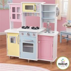 Now that is a play kitchen!