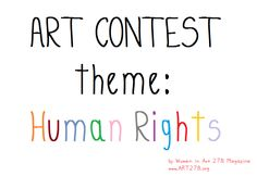 Only 12 days left to submit your artwork for the cover page contest (December 2013 issue) of Women in Art 278 magazine. More info at http://art278.blogspot.com/2013/11/human-rights-matter-expression-through.html  Promoting female artists while bringing awareness to important social issues & injustice.  HUMAN RIGHTS: December's cover page theme.   #artcontest #callingallartists #femalesrock #art278