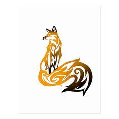 Tribal Tattoos, Wolf Tattoos, Celtic Tattoos, Body Art Tattoos, Tatoos, Rock Tattoo, Tattoos Skull, Tribal Fox, Tribal Animals