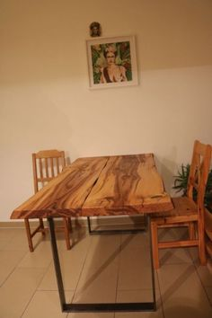 authentic parota table. tropical exotic wood. we ship usa & mexico