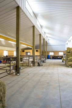 Metal Horse Barn With Pipe Stalls Masco Pinterest