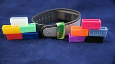Bitbelt 12 pack one of every color 3 that glow in the dark Protect your Fitbit Charge Fitbit Charge HR Garmin Vivofit or Disney MagicBand with Bitbelt We invented the secondary safety clasp works like vivokeeper ** Check out this great product. (Note:Amazon affiliate link)