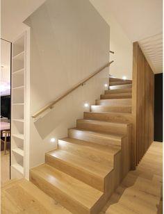 Staircase American oak