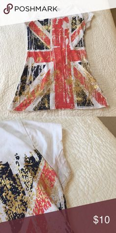 UK shirt Actually from the uk! Good condition. Slight discoloration on armpits Uk Tops Tees - Short Sleeve