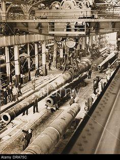 Munitions factory, WW2