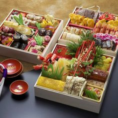 """Osechi"" which is Traditional Japanese new year food!/おせち料理"