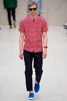 Burberry Prorsum - Men Fashion Spring Summer 2014 - Shows - Vogue.it