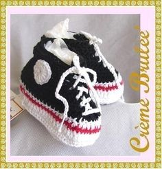 BABY BOYS Creme Brulee Cute as a Button  High top by SnugBugBears, $19.50