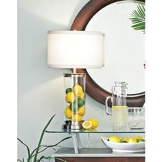 ideas diy lamp ideas base dining rooms for 2019 Diy Bags Makeover, Fillable Lamp, Glass Lamp Base, Glass Lamps, Apartment Lighting, Cheap Wall Art, Wood Wedding Signs, Diy Furniture Projects, Diy Projects