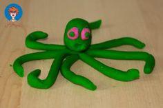 Octopus van klei