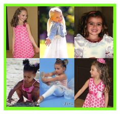 """""""current dance moms girls as babies"""" by mooerdoo ❤ liked on Polyvore featuring art and dancemoms"""