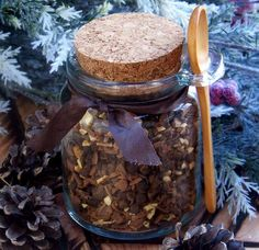 WINTER MAGIC WASSAIL Yule Sabbat Holiday Cider, Wine and Punch Spices for Winter Solstice Celebrations - No Sugar Fillers