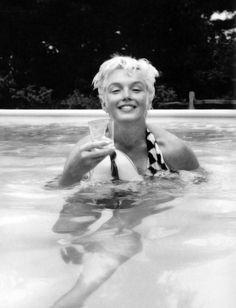 Marilyn Monroe photographed by Milton Greene, 1955