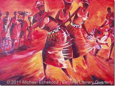Michael Echekoba- Painting Nigeria Positively Nigerian Art