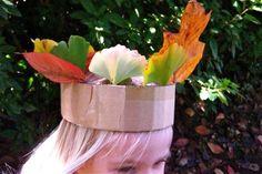 crown of leaves and cardboard thecardboardcollective.com