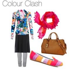 """Colour Clash"" by creatingcontentment on Polyvore"