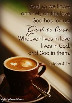 God is love. And when I surrendered my life to Him, I was given the mind of Christ. I don't have to rely on my own ability to show love; rather the Holy Spirit transforms my mind to love the way God loves. #write31days