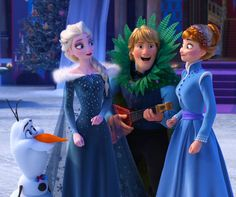 olaf and Elsa and kristoff & Anna Frozen Disney, Disney Olaf, Olaf Frozen, Anna Frozen, Frozen Movie, Frozen 2013, Jelsa, Disney And Dreamworks, Disney Pixar