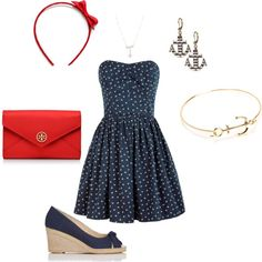 Memorial Day outfit by lsusans on Polyvore