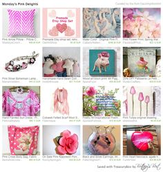 #integrityTT https://www.etsy.com/treasury/NDIyNjYwNDh8Mjg2NDczNTAxNQ/mondays-pink-delights